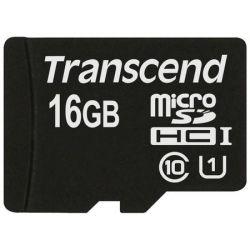 Transcend 16GB MicroSDHC Class 10 memóriakártya