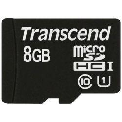 Transcend 8GB MicroSDHC 300x memóriakártya