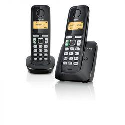 Gigaset A220 DUO fekete vezeték nélküli (DECT) telefon