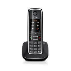Gigaset C530 fekete vezeték nélküli (DECT) telefon