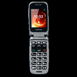 """myPhone Rumba 2.4"""" Bluetooth FM ezüst mobiltelefon"""