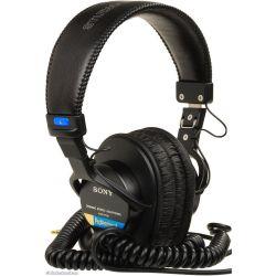 Sony MDR7506 vezetékes fekete fejhallgató