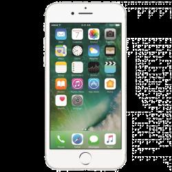 "Apple iPhone 7 4.7"" 128GB Single SIM 4G/LTE ezüst okostelefon"