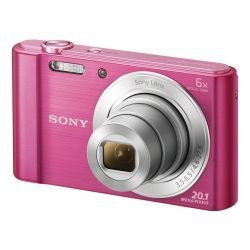 Sony DSC-W810B 6x optikai zoom rózsaszín kompakt digitális fényképezőgép