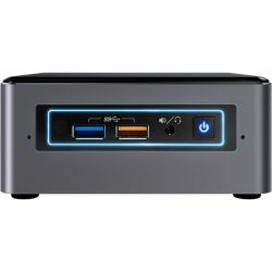 Intel NUC7i3BNHXF, i3-7100U, 4GB DDR4, 1TB HDD, Optane 16GB, Windows 10 fekete mini PC