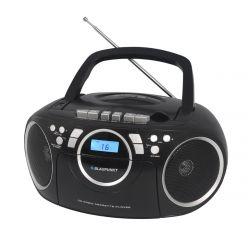 Blaupunkt BB16BK FM/CD/MP3/USB kazettás fekete boombox