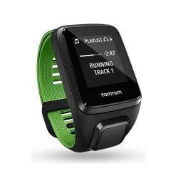 TomTom Runner 3 Music Small S-es GPS, Bluetooth fekete-zöld okosóra + bluetooth headset