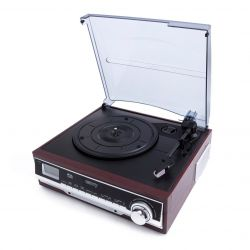 Camry CR 1113 barna lemezjátszó rádióval