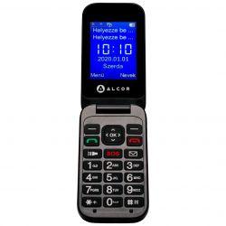 "Alcor Handy D 2.4"" Dual SIM 2G fekete mobiltelefon"
