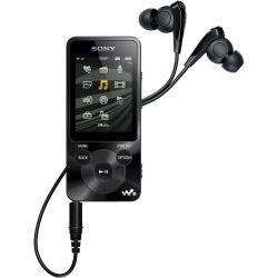 Sony NWZ-E580 16GB fekete MP4 lejátszó
