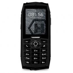 myPhone HAMMER 3+ 3G Dual SIM víz- és porálló fekete mobiltelefon