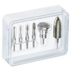 Beurer Profiset ezüst kiegészítő készlet az Beurer MP60 manikűr és pedikűr készlethez
