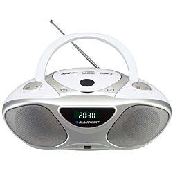 Blaupunkt BB14WH FM/CD/MP3/AUX, 2x1 W RMS fehér boombox