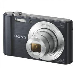 Sony DSC-W810B 6x optikai zoom fekete kompakt digitális fényképezőgép