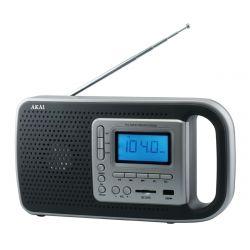 Akai PR005A-420B szürke rádió