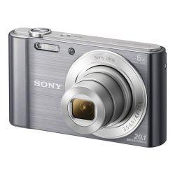 Sony DSC-W810S 6x optikai zoom ezüst kompakt digitális fényképezőgép