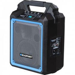 Blaupunkt MB06 kék-fekete 35/500 W, BT, FM, USB, SD, MP3, WMA hordozható fekete-kék Bluetooth hangszóró