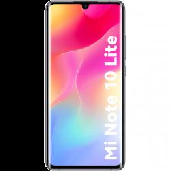 "Xiaomi Mi Note 10 Lite 6,57"" 128GB Dual SIM 4G/LTE fekete okostelefon"