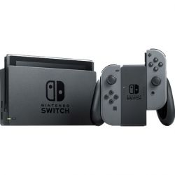 Nintendo NSH002 Switch 32 GB, Bluetooth, Usb, Hdmi fekete konzol szürke Joy-Con-nal