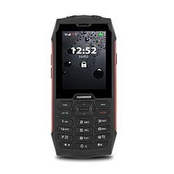 "MyPhone Hammer 4 2.8"" 64 MB Dual Sim IP68 2G fekete-piros strapabíró mobiltelefon"