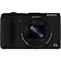 Sony DSC-HX60V 30x optikai zoom fekete digitális fényképezőgép