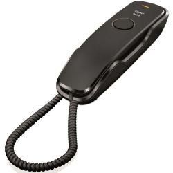 Gigaset DA210B fekete vezetékes falra szerelhető telefon