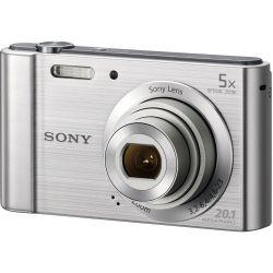 Sony DSC-W800 5x optikai zoom ezüst kompakt digitális fényképezőgép