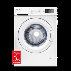 NAVON PR 612 6kg, 1200ford/perc, digitális, LED kijelzős fehér elöltöltős mosógép