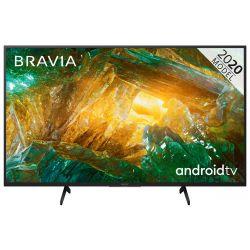 "Sony KD49XH8096BAEP 49"" 4K UHD Smart LED Android fekete televízió"