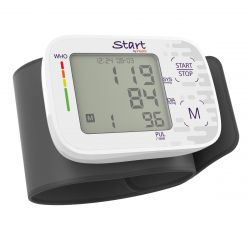 Homedical iHealth Start BPA BPST1 4 felhasználó, 4×30 mérési memória fehér-szürke csuklós vérnyomásmérő