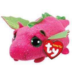 TEENY TY TY41247 Darby rózsaszín sárkány plüss