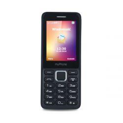 "myPhone 6310 2.4"" Dual SIM 2G fekete mobiltelefon"