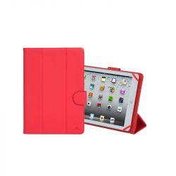 """Rivacase Malpensa 3137 10.1"""" 15x261x185 mm oldalra nyíló piros tablet tok"""