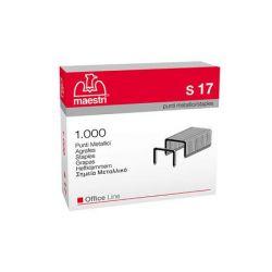 Primula S17 23/17 ezüst tűzőkapocs (1000 db/doboz)