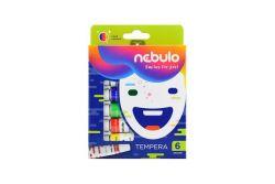 Nebulo 6 darabos tempera készlet