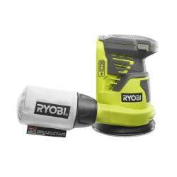 Ryobi R18ROS-0 18V 125 mm akkumulátor és töltő nélküli excentrikus csiszoló