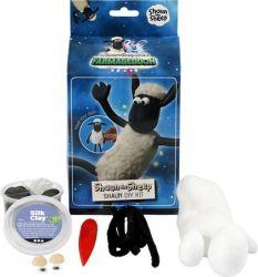 """CREOTIME """"Shaun, a bárány"""" fekete-fehér gyurma készlet"""