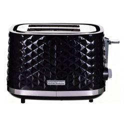 Morphy Richards Vector 850W 2 szeletes fekete kenyérpirító