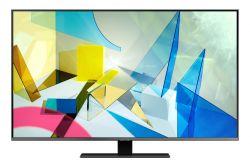 """Samsung Q800T QE50Q80 127 cm (50"""") 4K Ultra HD Smart TV Wi-Fi Fekete, Ezüst televízió"""