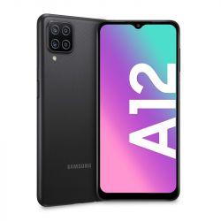 """Samsung Galaxy A12 16,5 cm (6.5"""") Dual SIM 4G LTE 4/64 GB Fekete okostelefon"""