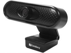 Sandberg 133-96 2MP 1080P Full HD 30 FPS USB Fekete webkamera