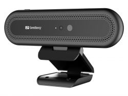 Sandberg Face Recognition 2MP  30 FPS Full HD USB 2.0 Fekete webkamera