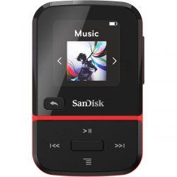 Sandisk Clip Sport Go 16GB, piros MP3 lejátszó