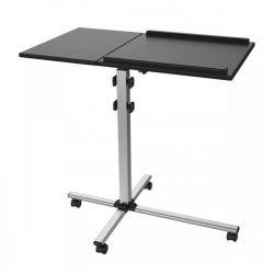 Sbox PFS-2 2x10 kg, magasság 772-872 mm fekete-ezüst mobil padlóállvány projektorhoz