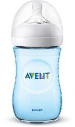 Philips Avent Natural SCF035/17 260ml átlátszó/kék cumisüveg