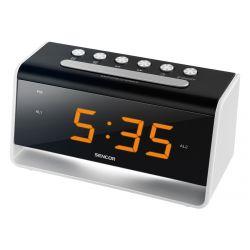 Sencor SDC 4400W fekete-fehér ébresztőóra