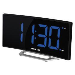 Sencor SDC 120 LED, 1 W fekete-ezüst ébresztőóra
