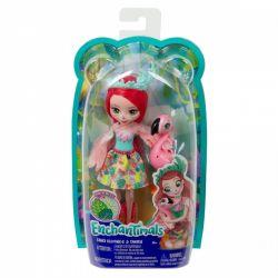 Mattel Enchantimals - Fanci Flamingo és Swash baba állatkával