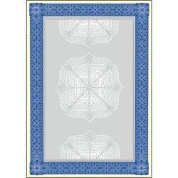 SIGEL A4 185 g kék oklevél előnyomott papír (20 lap)