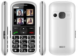 "myPhone Halo 2 2,2"" 24Mb Single SIM 2G fehér mobiltelefon"